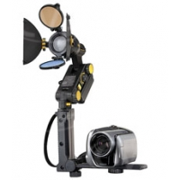 Dedolight DLBRHS (DL-BRHS) Track with foldable handle, 1/4inch screw for camera, shoe for Ledzilla
